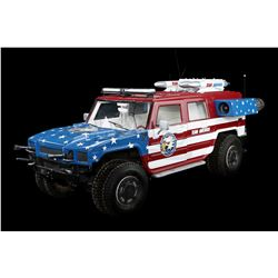 TEAM AMERICA: WORLD POLICE (2004) - Team America Hummer H2 Model Miniature