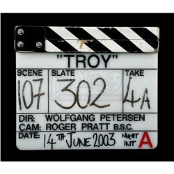 TROY (2004) - Production-Used Clapperboard