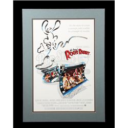 WHO FRAMED ROGER RABBIT (1988) - Bob Hoskins-Autographed Poster and Crew Jackets