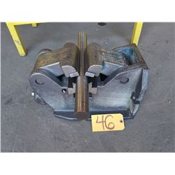 "6""1/4 H/V Machine Vise for Pipe & Shaft"