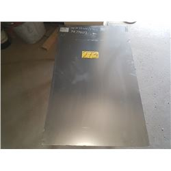 """Stainless Sheet 39""""5/16 x 24"""""""