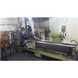 "Lathe 25 x 80 (2 chucks 16"" / Bore 5"") with Steady Rest and Digital Read out & Quick change tool hol"