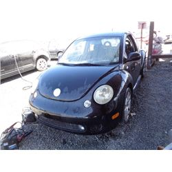 VW NEW BEETLE 2002 T-DONATION