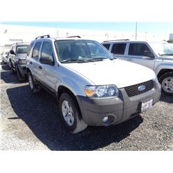 FORD ESCAPE 2007 T-DONATION