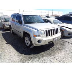 JEEP PATRIOT 2010 L/S-DONATION