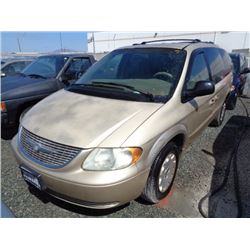 CHRYSLER TOWN & COUNTRY 2001 T-DONATION