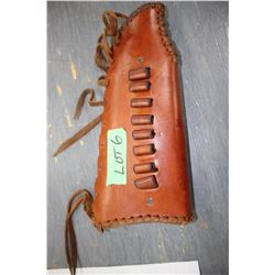 Leather Rifle Butt Cover