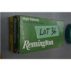 Box of 38 S & W, 146 gr High Velocity Factory Ammo