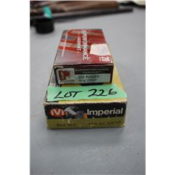 Box of 204 Ruger 32 gr. V-Max & a Box of 308 - 180 gr. - Both Factory