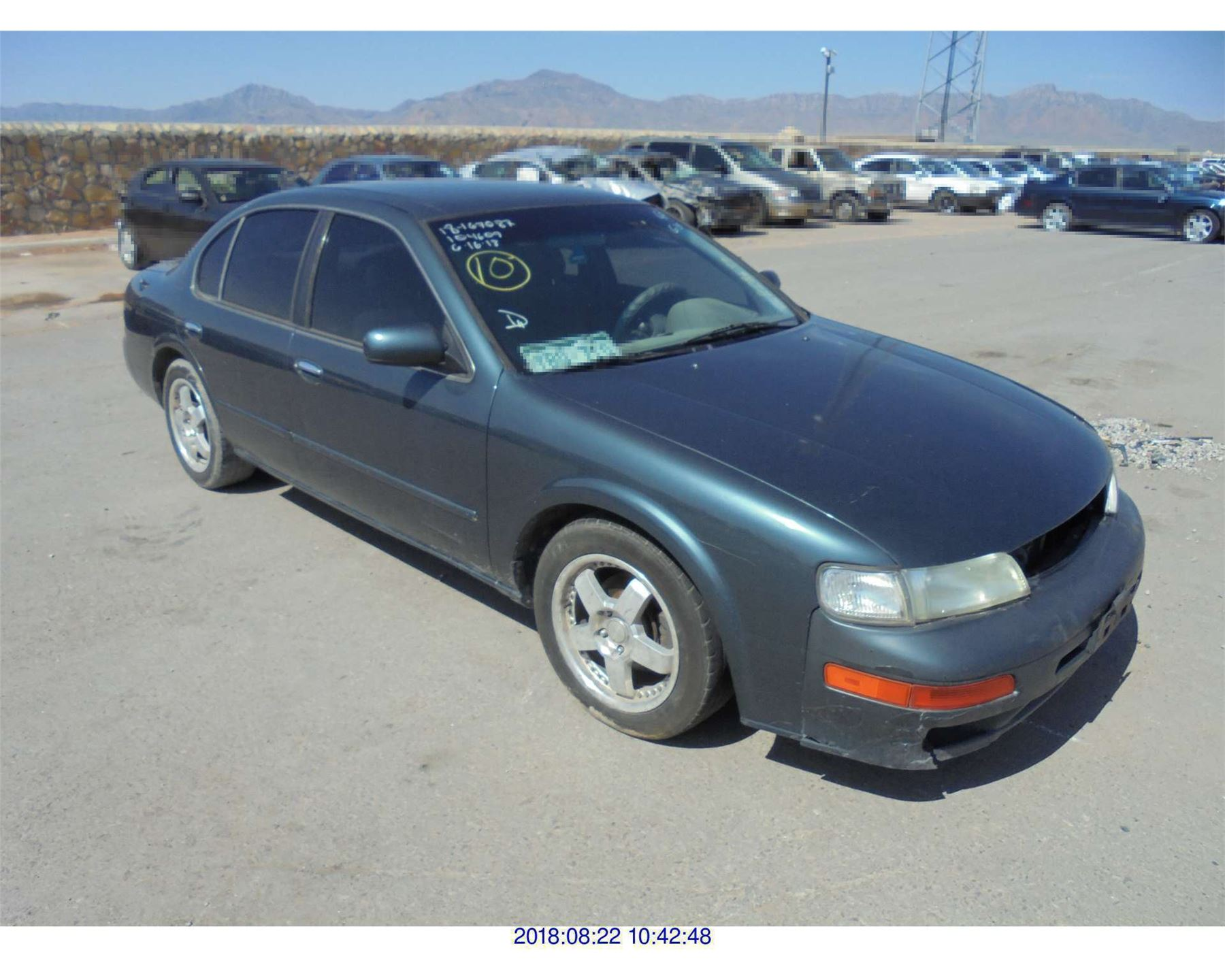 Nissan Maxima: Injured persons