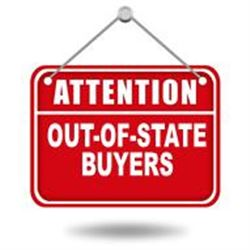 ATTENTION OUT OF STATE BUYERS
