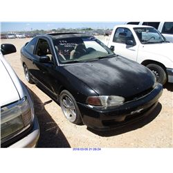 2001 - MITSUBISHI MIRAGE // RESTORED SALVAGE