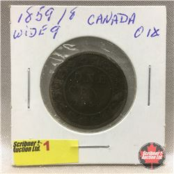 Canada Large Cent 1859 W9/8