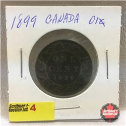 Canada Large Cent 1899