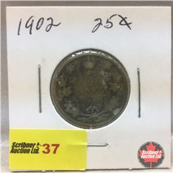 Canada Twenty Five Cent 1902