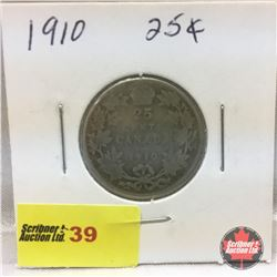 Canada Twenty Five Cent 1910