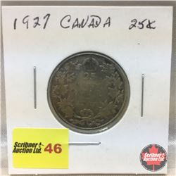 Canada Twenty Five Cent 1927