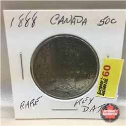 Canada Fifty Cent 1888