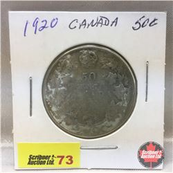 Canada Fifty Cent 1920