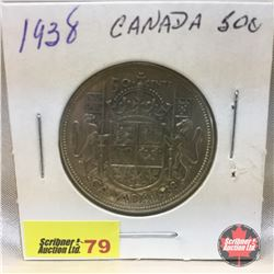 Canada Fifty Cent 1938