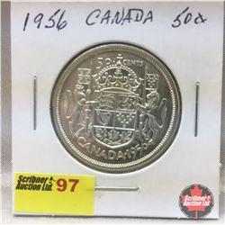Canada Fifty Cent 1956