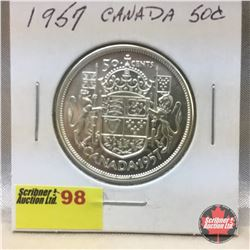 Canada Fifty Cent 1957