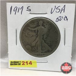 US Fifty Cent 1917S