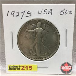 US Fifty Cent 1927S