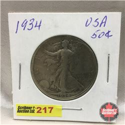 US Fifty Cent 1934