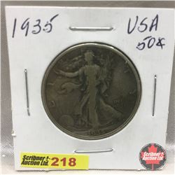 US Fifty Cent 1935