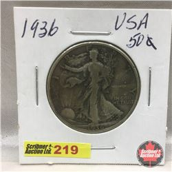 US Fifty Cent 1936