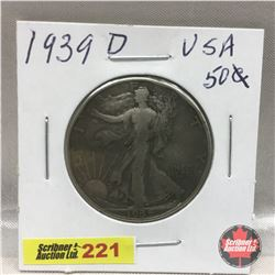 US Fifty Cent 1939S