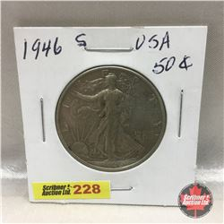 US Fifty Cent 1946S