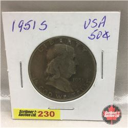 US Fifty Cent 1951S