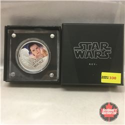 New Zealand Mint - Star Wars 2016 Rey $2 Silver Coin