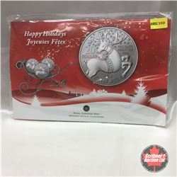 RCM 2012 Happy Holidays $20 Fine Silver Coin - CHOICE of 6