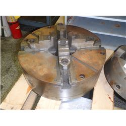 """BISON 16"""" 4-JAW SELF CENTERING MANUAL CHUCK"""