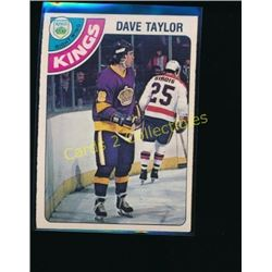 1978-79 O-Pee-Chee #353 Dave Taylor RC