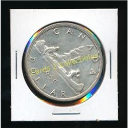 1959 Canadian Silver $1 Coin