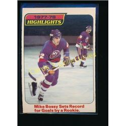 1978-79 O-Pee-Chee #1 Mike Bossy Highlights