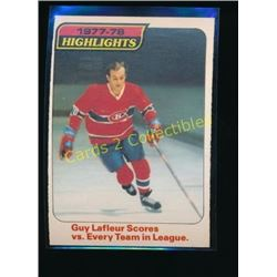 1978-79 O-Pee-Chee #3 Guy Lafleur Highlights