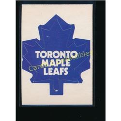 73-74 OPC Team Logos #16 Toronto Maple Leafs