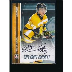 14-15 ITG Draft Prospects Autographs Sam Bennett