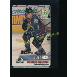 Joe Sakic Collector Series 7-11 Phone Card