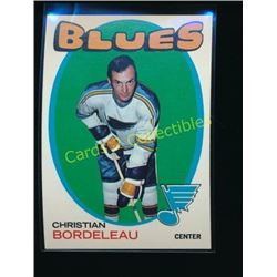 1971-72 Topps #51 Chris Bordeleau RC