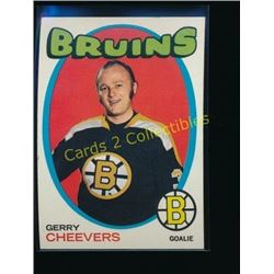 1971-72 Topps #54 Gerry Cheevers