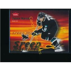06-07 Fleer Speed Machines #SM21 Patrick Marleau