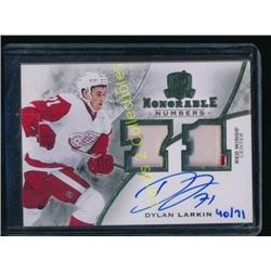 15-16 The Cup Honorable Numbers Dylan Larkin RC