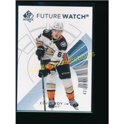 2017-18 SP Authentic #191 Kevin Roy FW RC