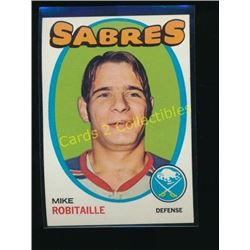 1971-72 Topps #8 Mike Robitaille RC
